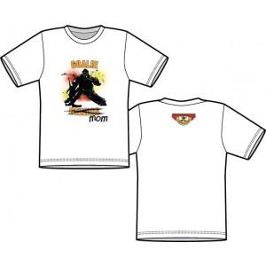 T Shirt - Goalie MOM  (Front Logo)