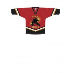 Top Quality Pro Mesh Goalie Jersey  - GOALIE GENIUS (Front Logo)