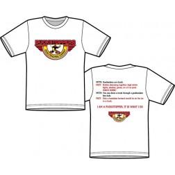 Myth Fact T Shirt - GOALTENDING EXPERT (Front Logo)