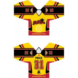 MY GOAL IS NO GOAL -  Pro CUSTOM Sublimated Jersey (A)