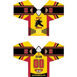 GOALIE GENIUS -  Pro CUSTOM Sublimated Jersey (B)